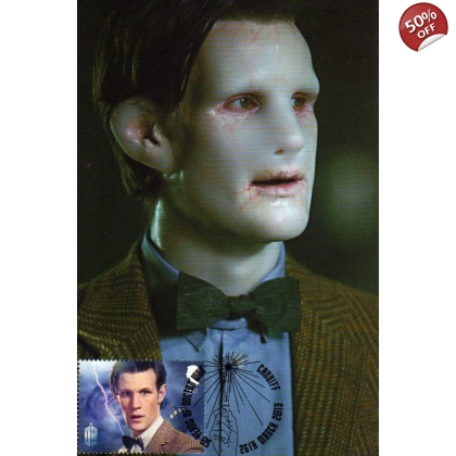 Dr Who Maximum card Matt Smith Flesh Double