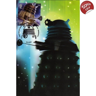 Dr Who Maximum card - Dalek 8
