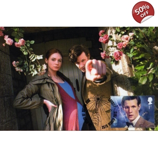 Dr Who Maximum card Matt Smith & Amy P..