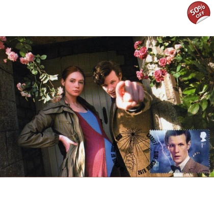 Dr Who Maximum card Matt Smith & Amy Pond - Dream Lord