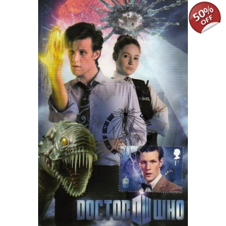 Dr Who Maximum card Matt Smith Elevent..
