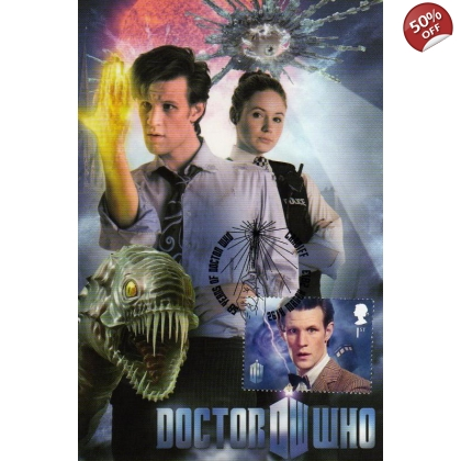 Dr Who Maximum card Matt Smith Eleventh Hour