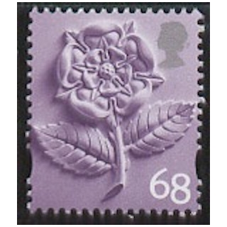 EN 5 68p stamp England original type 2..