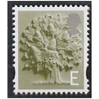EN 8 'E' rate England stamp with white..