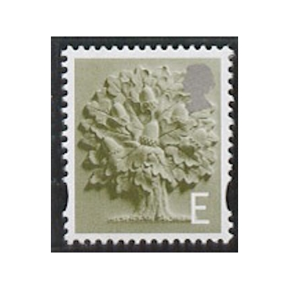 EN 8 'E' rate England stamp with white border 2003