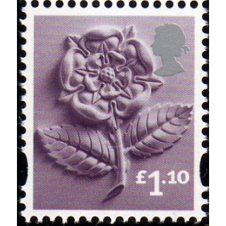 EN41  £1.10 England rose stamp issued ..
