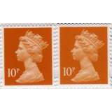 4010P.4a 10p orange MPIL M14L from Gre..