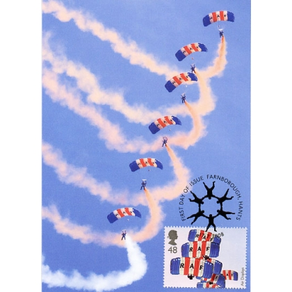 2856 RAF Falcons Air Display Maximum Card 2008