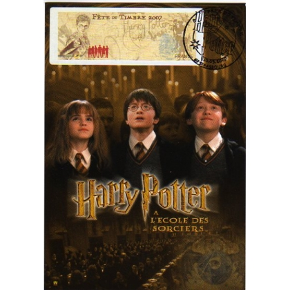 M424 Harry Potter France ATM stamp maximum card