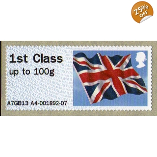 FS09h.3s Flag Faststamp..