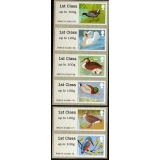 FS04ac Birds 3 Faststamps 6 x 1st from..
