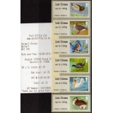 FS04z Birds 3 Faststamps set of 6 earl..