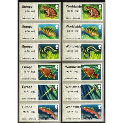 FS13-60s Lakes Faststamps 60g set of 12