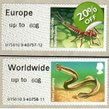 FS14-60 Rivers Faststamps 60g pair 2014