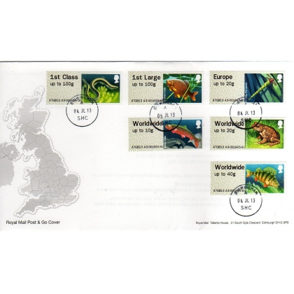 FS14h2F Lakes Faststamps Hytech FDC Collectors Set