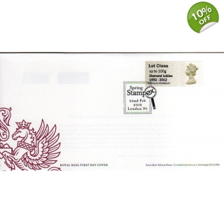 FT02f Diamond Jubilee Faststamps FDC