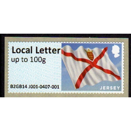 FZJ01 Jersey Flag Faststamp - Local Letter