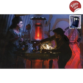 Dr Who Maximum card - Tardis 12