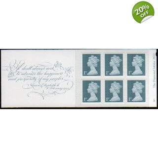 MB11 Diamond Jubilee Booklet 6x 1st