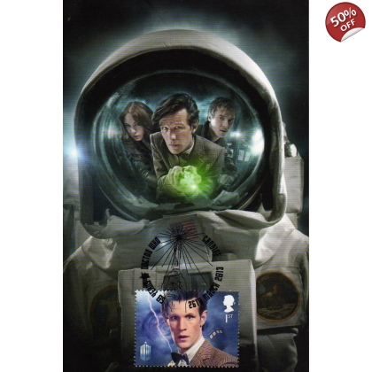 Dr Who Maximum card Matt Smith Impossible Astronaut