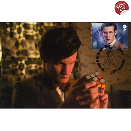 Dr Who Maximum card Matt Smith - Rubik's Cube