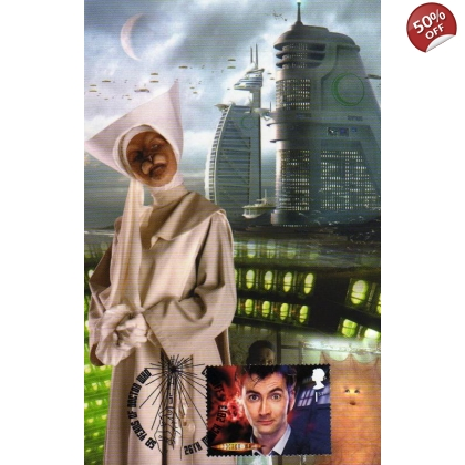 Dr Who Maximum card David Tennant New Earth
