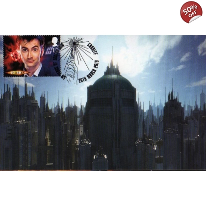 Dr Who Maximum card David Tennant New New York