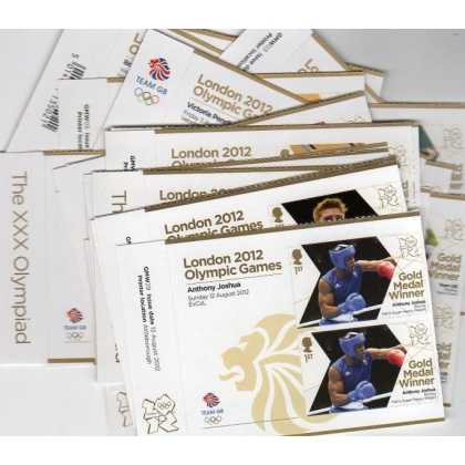 London 2012 Olympic Gold Medal set of 29 pairs