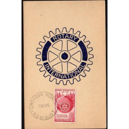 M0004 Rotary International Maximum Card Australia