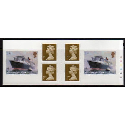 PM13 Ocean Liners self-adhesive book 2004