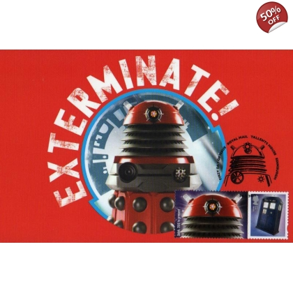 Dr Who Maximum card - Dalek 2