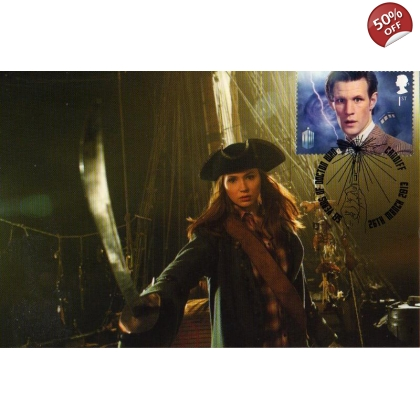 Dr Who Maximum card Matt Smith - Pirates