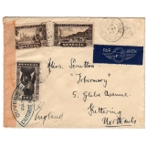 Senegal - England 1940 Censored cover