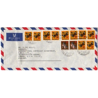 New Zealand 1973 Airmail to England - ..