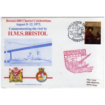 Bristol 600 Charter Celebrations Commemorative Cover 1973