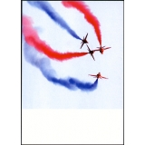 Red Arrows, Dartmouth 2006, postcard