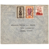Belgian Congo airmail to Switzerland 1..