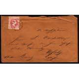 Austria 1867-type 5kr Franz-Josef on c..