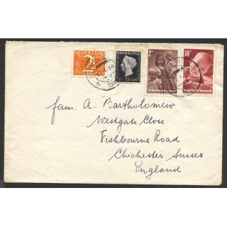 Netherlands 1948 cover to England
