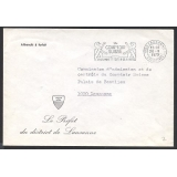 Switzerland unstamped Official cover 1..