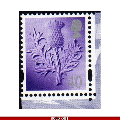 S112.k 40p Scotland stamp from Parliament MS