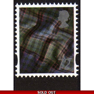 S120.f 72p Scotland stamp from Lest We..