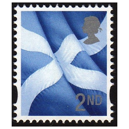 S130 2nd class Scotland litho print by Cartor - 2 shades