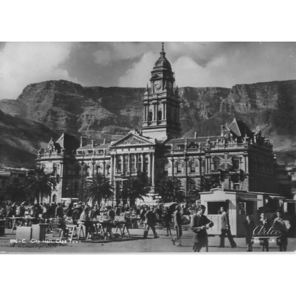 South Africa: City Hall Cape Town, unused