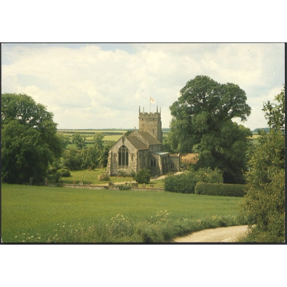 Burnham Thorpe Church, Norfolk. Nelson's home village