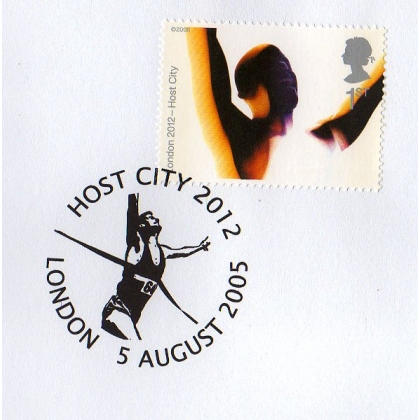 Olympics: London 2012 Host City 'winner' postmark