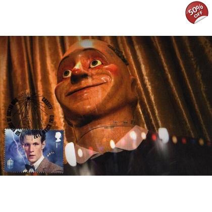 Dr Who Maximum card Matt Smith Smiler