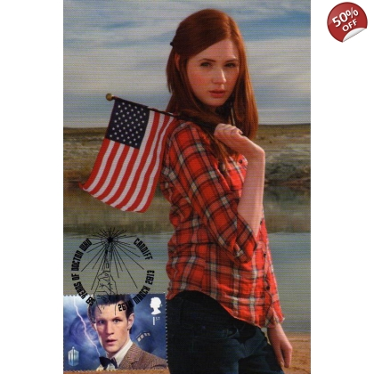 Dr Who Maximum card Matt Smith Amy Pond 3