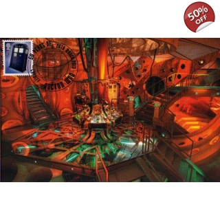 Dr Who Maximum card - Tardis 14