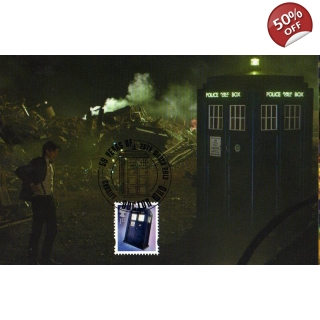 Dr Who Maximum card - Tardis 10